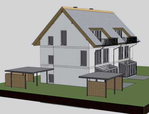 Exklusives Doppelhaus in Aigen