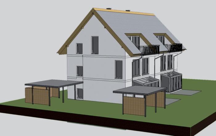 Doppelhaus in Aigen