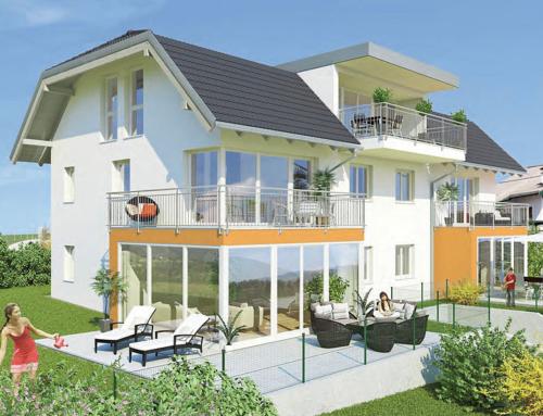 Einfamilienhaus und 5 Wohnungen in Elixhausen
